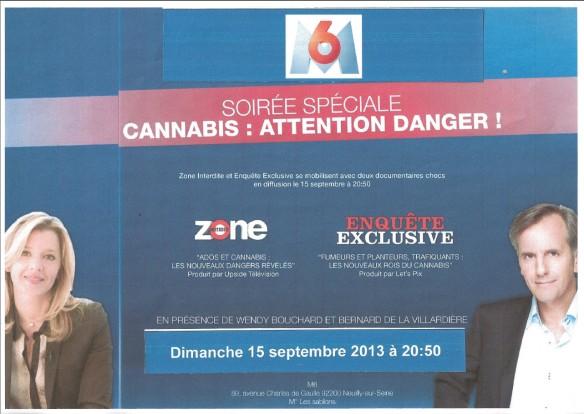 M6 Zone interdite Reportage CANNABIS_EDVO