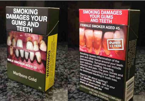 Australie Paquet de tabac