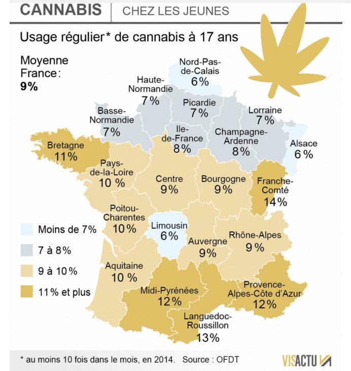 carte usage cannabis